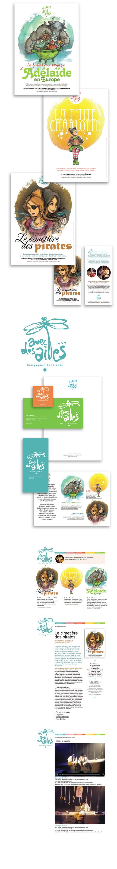 Affiches A3 • Flyers 100 x 210 • Papeterie • Dépliant 3 volets A4 • Site web