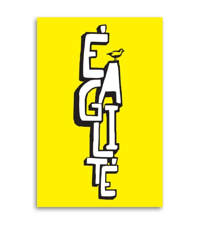 Affiche Égalité • 40 x 60