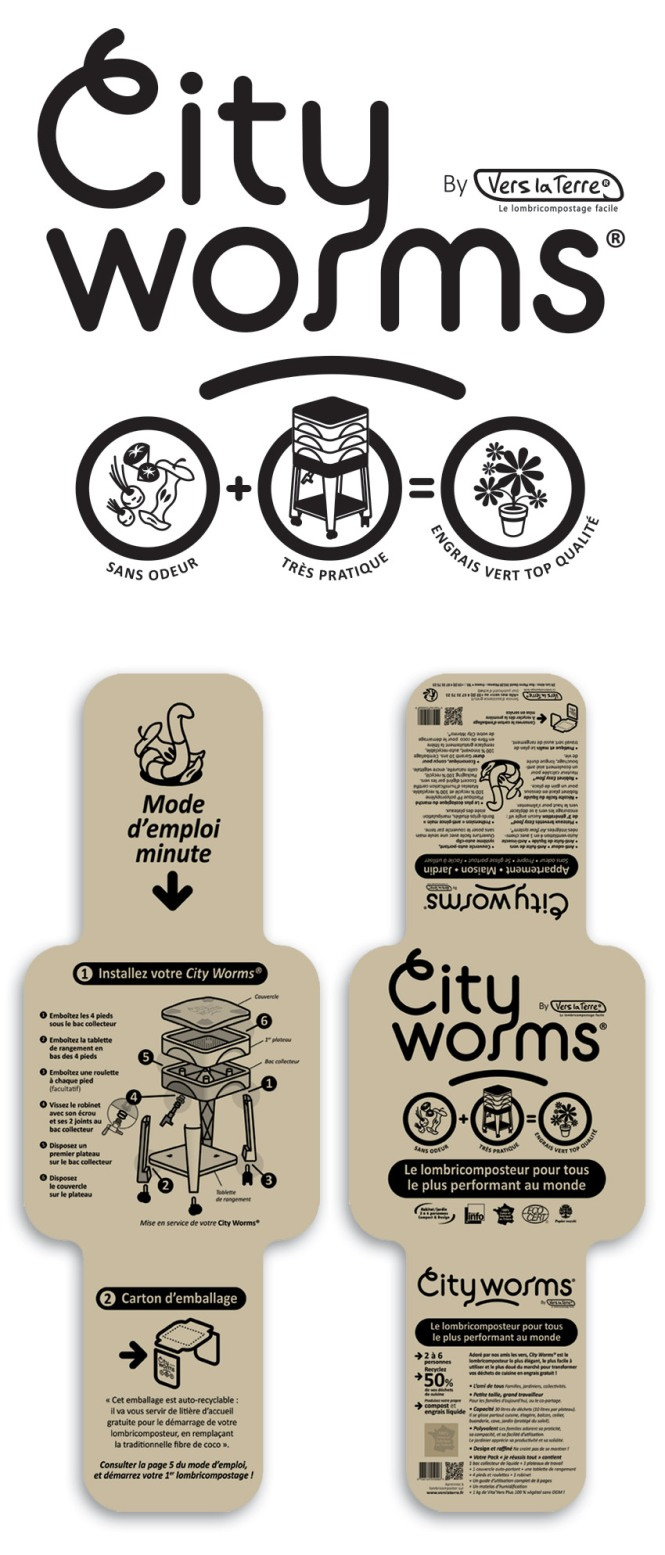 City Worms Logo
