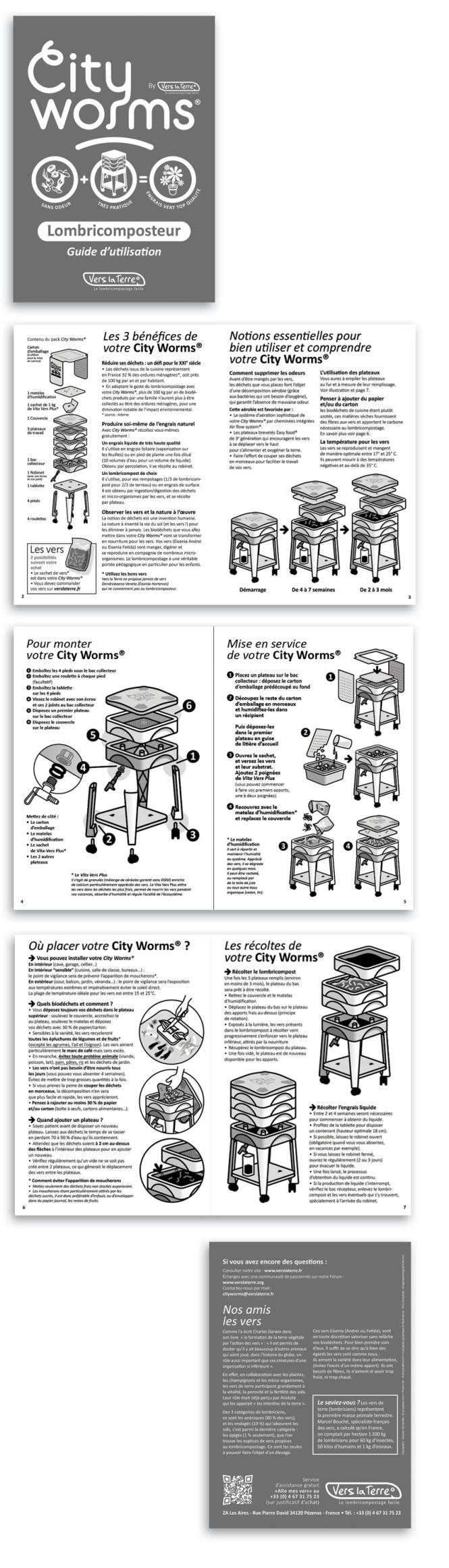Guide d'utilisation 8 pages • A5