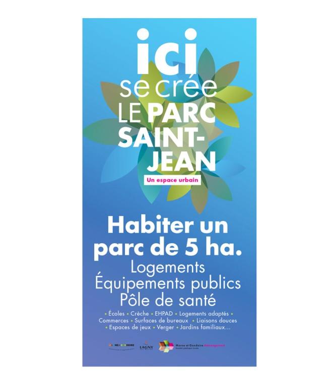 Palissade Parc Saint-Jean Marne et Gondoire Aménagement