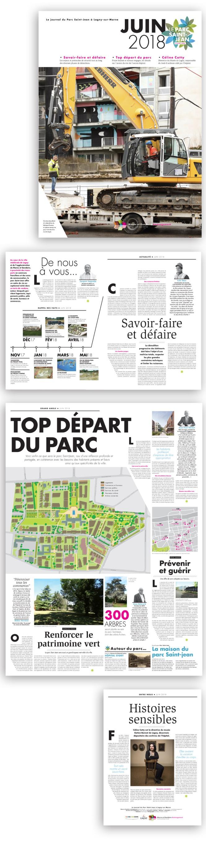 Journal du parc Saint-Jean Lagny