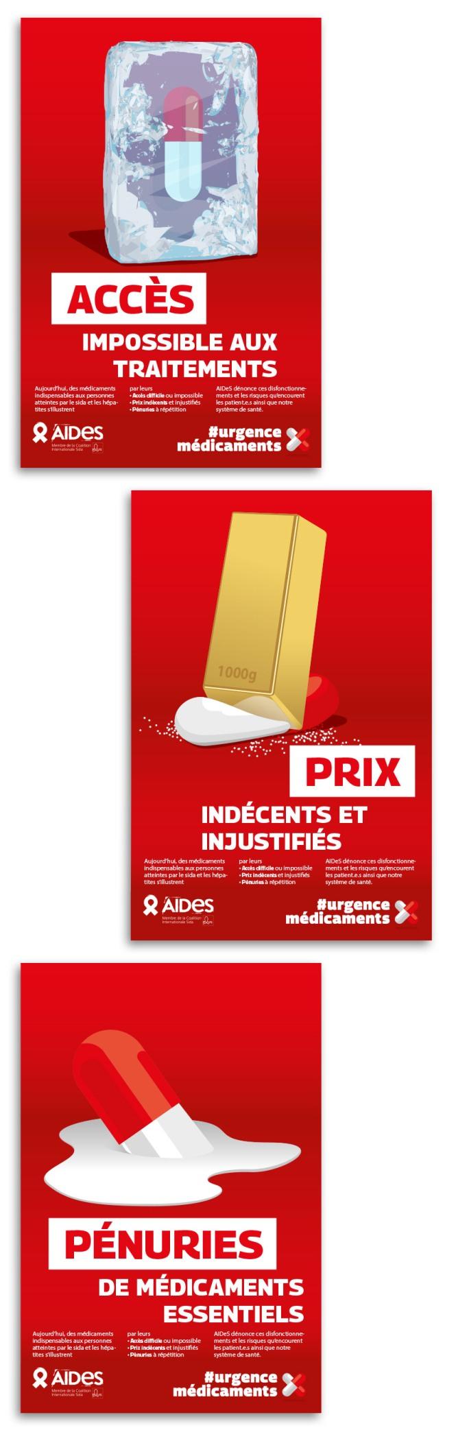 AIDeS médicaments Accès Prix Pénuries