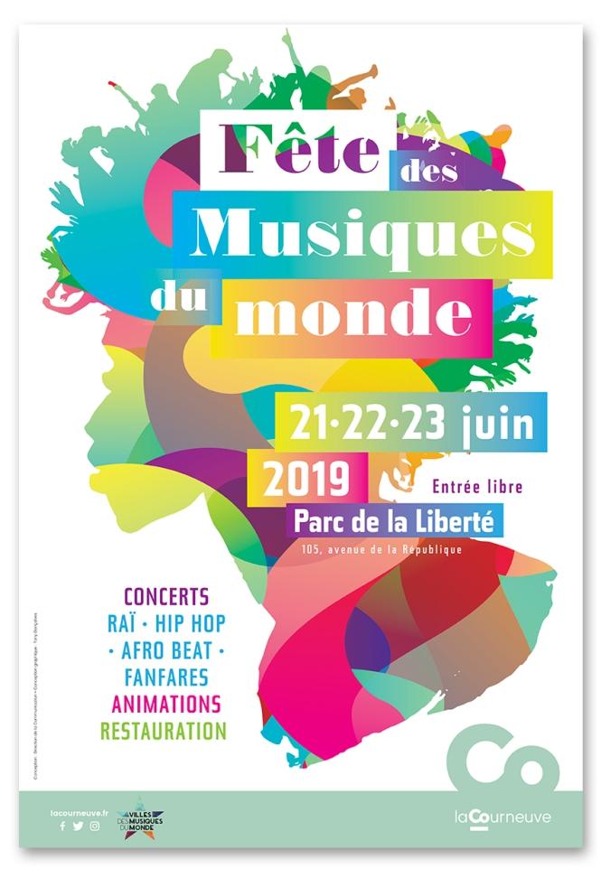 Fête des musiques du monde La Courneuve